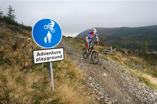 Mountain biking in UK's Adventure Capital, the Lake District