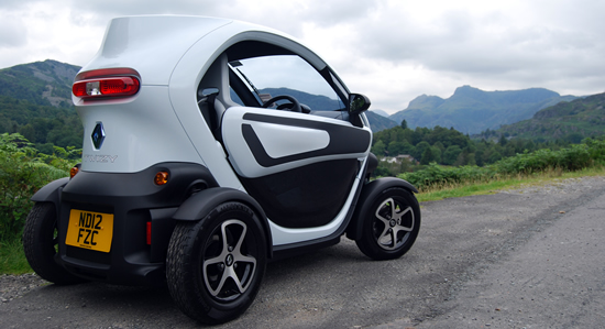 twizy hire lake district